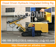 """High reliablility Hole diameter: 80-105 mm (3.15""""-4.13"""") Rated hole depth: 25 m (82') DTH drilling rig"""
