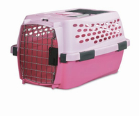 Plastic pad-lock pet cage