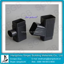 PVC Plastic Fittings for Outdoor Rainwater Guttering System