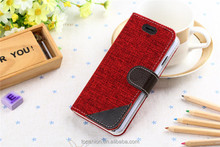 New Design Credit Card Mobile Phone Case Flip Leather Wallet Cover For iPhone 6 With Fresh Style, Hot 2015