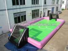 Cool inflatable water football field