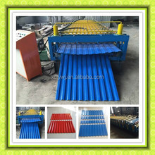 Russia used Wall And Roof Layering Machine Manufactures of Double Layer Roll Forming machine