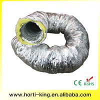 China ventilation system oval air duct, kitchen exhaust ducting