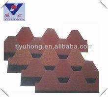 Asia red Bitumen Shingles
