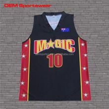Mens custom full sublimation basketball uniform design