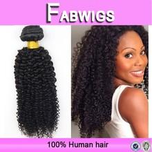 Fabwigs aliexpress fast shipping cheap natural color instock kinky curly weaving, 100 percent mongolian human hair weaving