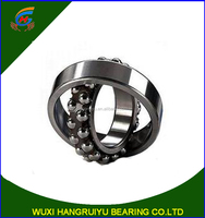 low friction double row self-aligning ball bearing