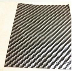 Black silver color with strong glue 2d carbon fiber adhesive car wrap vinyl film