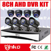 New AHD CCTV 8 ch with 1.0mp Dome/Bullet Cameras