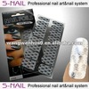 Hot Sell metallic nail art foil roll nail foil wraps Hallowmas designs