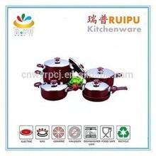 2015 Korea utensils hot pot aluminum ceramic casserole set kitchen ware enamelware cookware from wuyi