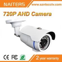 24pcs IR LEDs Metal Housing Waterproof Outdoor 1MP AHD Cameras Night Vision Small CCTV Camera