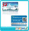 Best Price CR80 standard size pvc calling prepaid scratch card