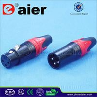 Daier mini xlr 4 pin connector