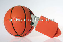basketball PVC usb flash drive