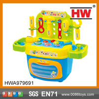 (With Music And Light ) Hot Sale DIY Tool Set Childrens Plastic Toy