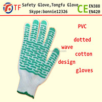 machine of knitted hand gloves with pvc dots