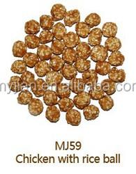 Pet food-MJ59-Chicken & rice ball