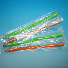 Wholesale Hot silicone small stylus touch pen hand band