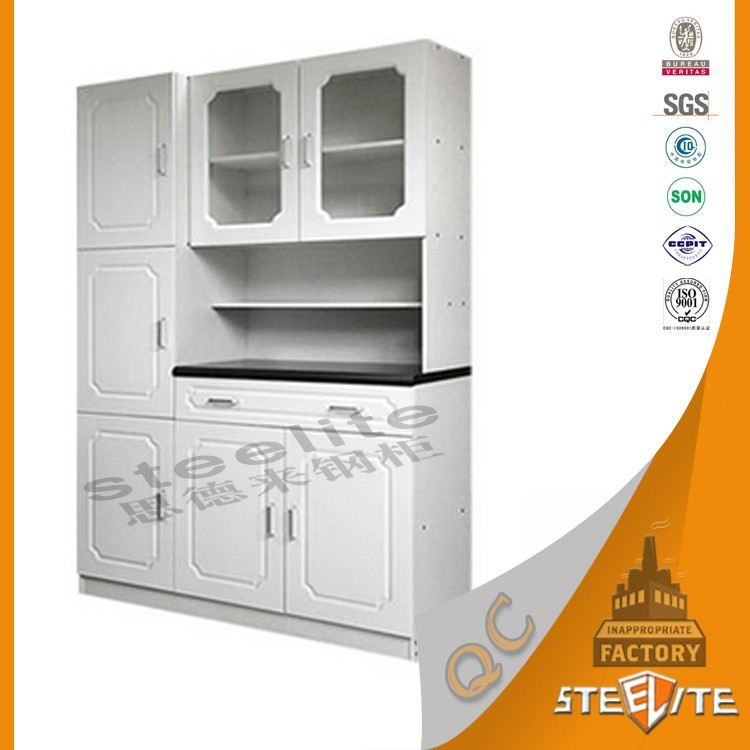 China furniture cheap modern modular used metal kitchen for Cheap metal kitchen cabinets