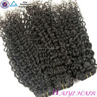 "18"" Best Quality clip on indian hair extensions"