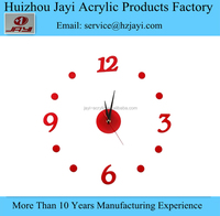 Acrylic Clock / Wall clocks / Plexiglass clock