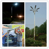 2015 Ecosol New Products High quality all in one integrated solar bollard /solar led street light/solar street light