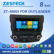 New design 7 inch car accessories car radio for mitsubishi outlander parts