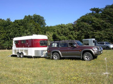 Three horse trailer with kitchen at low price