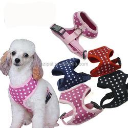 Pet Soft Harness (cotton stars design),pet dog harness,harness for pet dog,IPT-PH10