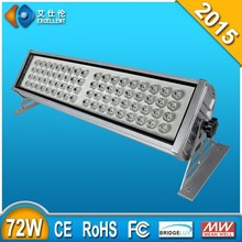 high power led wall washer 72w 20meter bright height