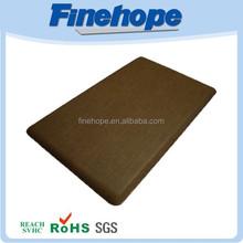 Anti slip square rubber bathroom mat