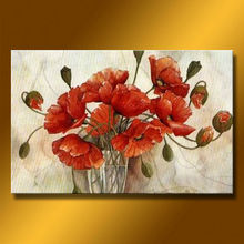 Group Rose Style Wall Oil Painting With The Superior Quality