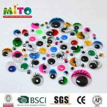 Mthyj- 005 bianco e nero in pvc occhi che si muovono
