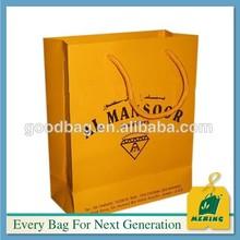 Mengendalikan kertas makanan pakej promosi percetakan beg Krismas ELE-CN0176 christmas ornament