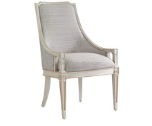 french upholstered dining chair with arms/white dining chair/dining room chair cushions