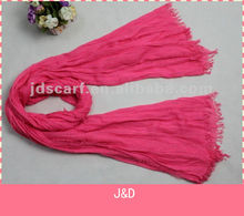 2015 spring scarf beads large for scarf Soft Crinkle Scarf