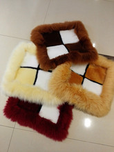 Hot selling thick wool and cashmere seat cushion in winter