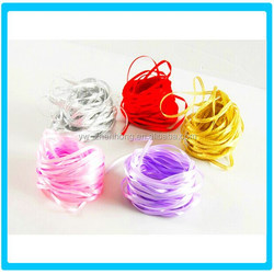 Colorful Cheap tied balloon ribbon and streamers ribbon tie gift bags