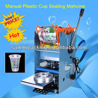 cheapest manual plastic cup sealer