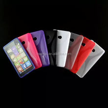 Cell phone accessory X line pattern soft tpu mobile phone skin tpu case cover for nokia lumia 540 china price