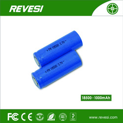 [manufacturers selling]NO.18500,1000 mah 3.7V rechargeable lithium batteries, supply for mobile power bank
