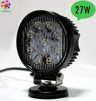 Hot sale 4.3 inch round LED lights, 27 watt LED work light, off road or truck 27W LED headlight