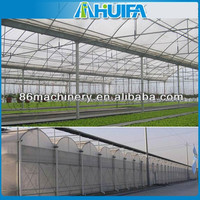 High Tunnel Multi-span Tomato Greenhouse Farming Equipment