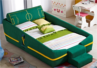 Children Wooden Double Bed Designs/Bed For Two Children/Folding Children Bed
