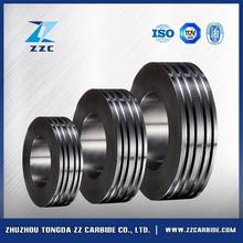 Hot selling cemented carbide cold profiling rolls for ribbed concreting steel with low price