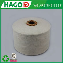 Raw White Blended Polyester Acrylic Viscose Cotton Weaving Yarn