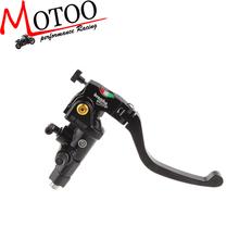 Motoo - Brembo 16RCS 19RCS Radial Motorcycle Brake Master Cylinder, 18-20mm Adjustable, Folding Lever