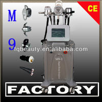 Tripolar Body Belly Wrinkle and Fat Removal Cavitation Machine with RF Face and Eye