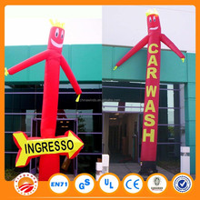 Car wash inflatable mini air dancer for ceremonies and advertising with blower